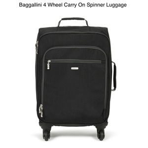 "NEW Baggalinni 22"" Carry-On Luggage 4-Wheeled"